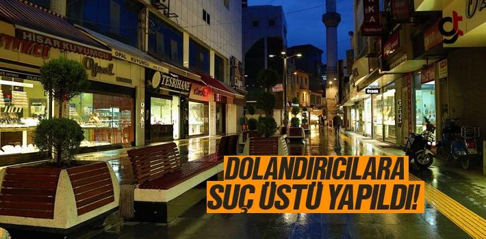 Samsun'da Kuyumculara Sahte Altın Satmak İsteyen...