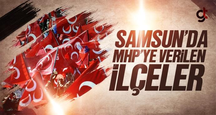Samsun'da MHP'ye Hangi İlçeler Verildi?