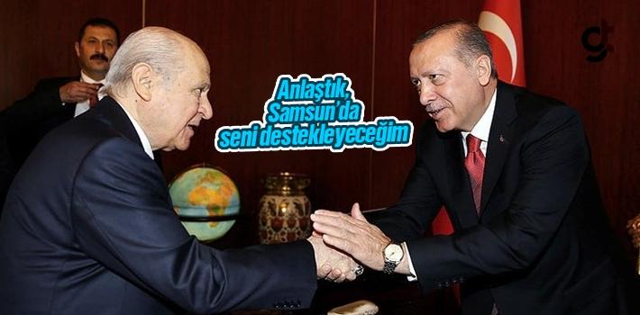 Samsun'da MHP'ye Verilecek İlçelerde Anlaşma...