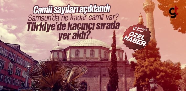Samsun'da Ne Kadar Camii Var?