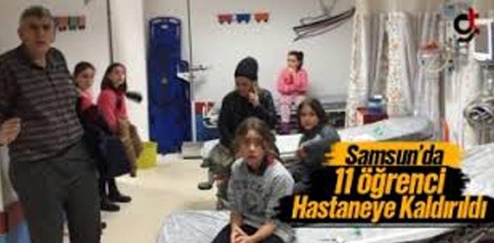Samsun'da Okulda Gıda Zehirlenmesi Şüphesi!
