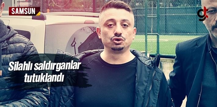 Samsun'da Otomobilden Ateş Açan Silahlı Saldırganlar...
