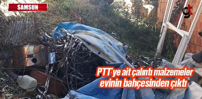 Samsun'da PTT'den Hırsızlık Yapan Kişi Tutuklandı