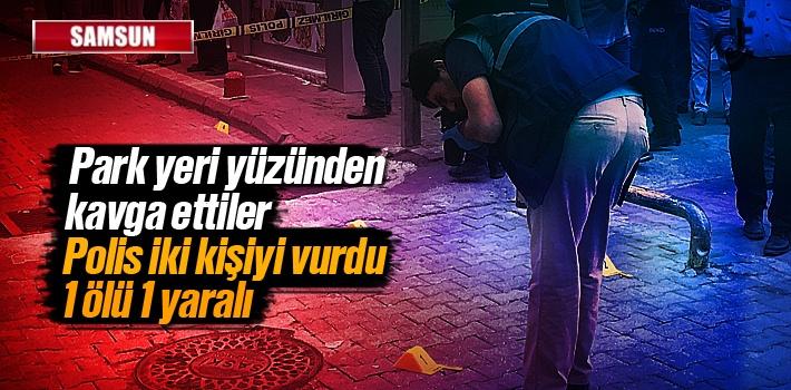 Samsun'da Rizeliler Fırını Önünde Polis, Park...