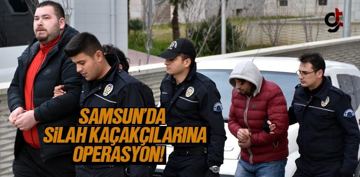 Samsun'da Silah Kaçakçılarına Operasyon