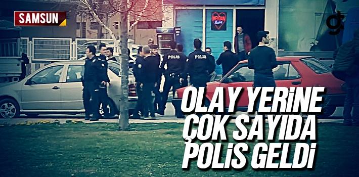 Samsun'da Sopalı Kavgada 8 Kişi Yaralandı