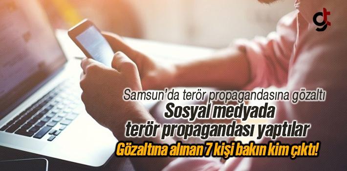 Samsun'da Sosyal Medyada Terör Propagandası Yapan...