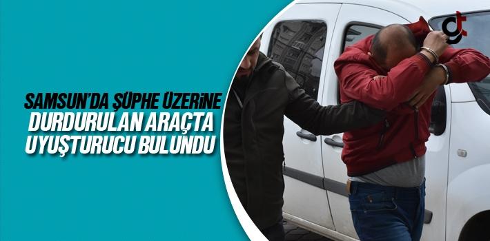 Samsun'da Şüphe Üzerine Durdurulan Araçta Uyuşturucu...