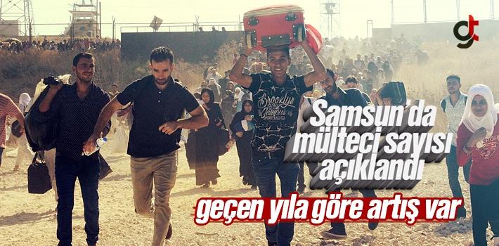 Samsun'da Suriyeli ve Iraklı Mülteci Sayısı...