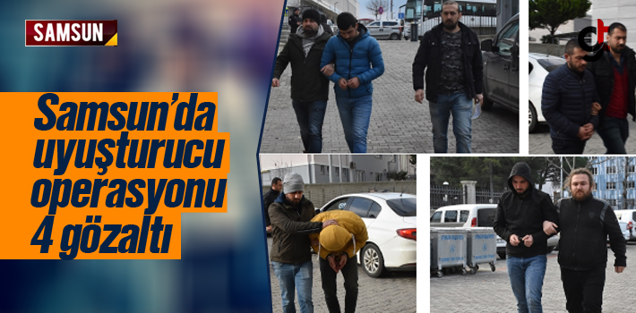 Samsun'da Torbacı Operasyonunda 4 Torbacı Gözaltına...