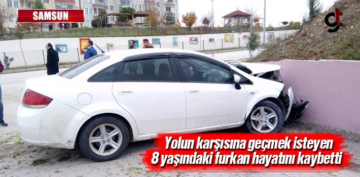 Samsun'da Trafik Kazası: 1 Ölü 2 yaralı