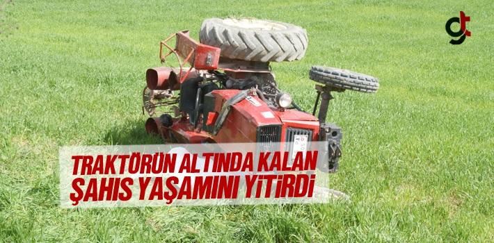 Samsun'da Traktörün Altında Kalan Şahıs Yaşamını...