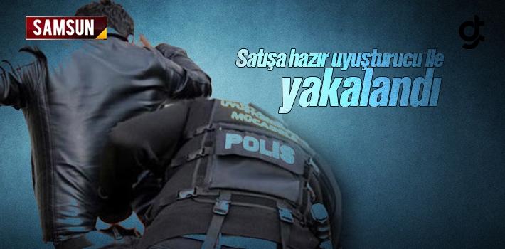 Samsun'da Uyuşturucu Satıcısı Yakalandı