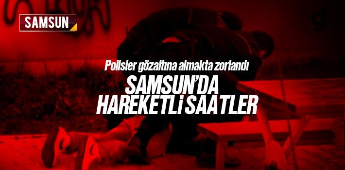 Samsun'da Uyuşturucu Krizine Giren Genç Zorluk Çıkardı
