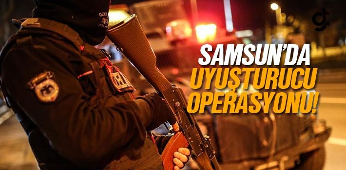 Samsun'da Uyuşturucu Operasyonunda 6 Kişi Gözaltına...