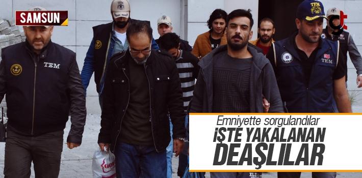 Samsun'da Yakalanan DEAŞlı 6 Kişi Emniyette Sorgulandı
