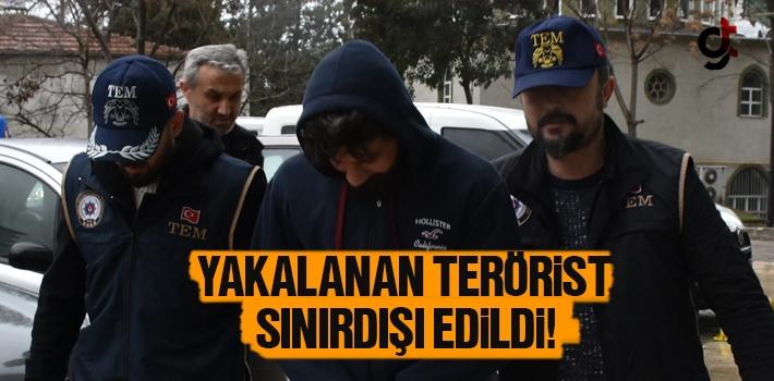 Samsun'da Yakalanan Terörist Sınırdışı Edildi