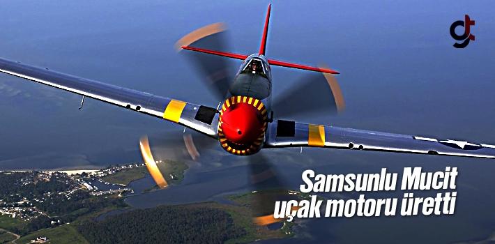 Samsunlu Mucit Uçak Motoru Üretti