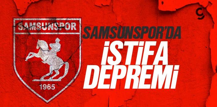 Samsunspor'da Yönetim İstifa Etti