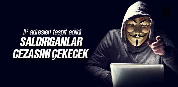 Sitemize Saldırı Yapanlar Cezasını Çekecek