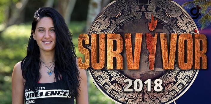 Survivor 2018 ünlüler takımı yarışmacısı Sahra...