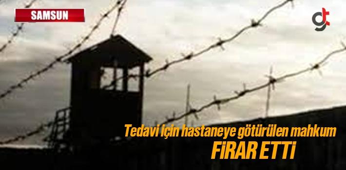 Tedavi İçin Hastaneye Götürülen Mahkum Firar...