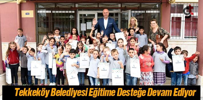 Tekkeköy Belediyesinden Her Yıl 2 Bin Öğrenciye...