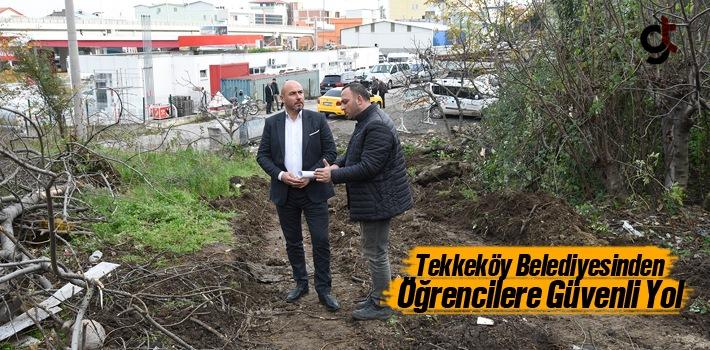 Tekkeköy Belediyesinden Öğrencilere Güvenli Yol