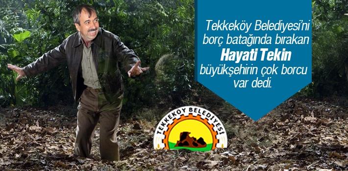Tekkeköy Belediyesi'ni Borç Batağında Bırakan...
