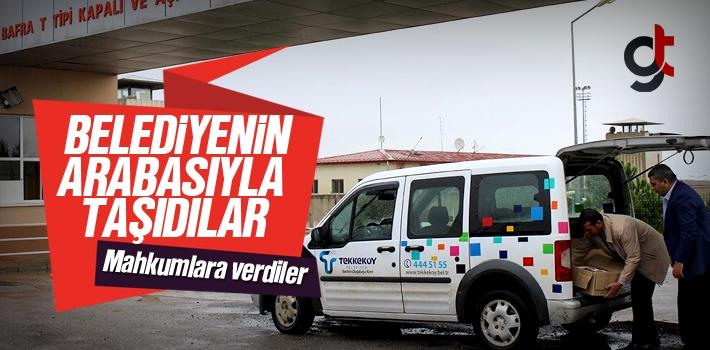 Tekkeköy Belediyesi'nin Araçları Bafra Cezaevinde