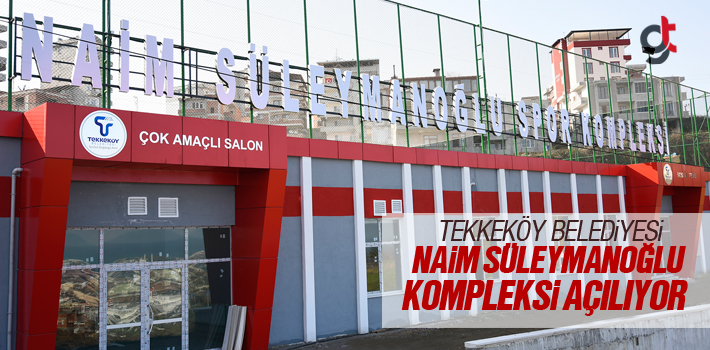 Tekkeköy Naim Süleymanoğlu Spor Kompleksi Yakında...
