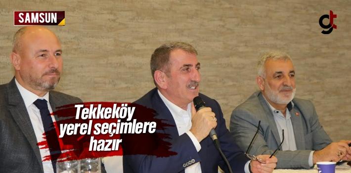 Tekkeköy Yerel Seçimlere Hazır