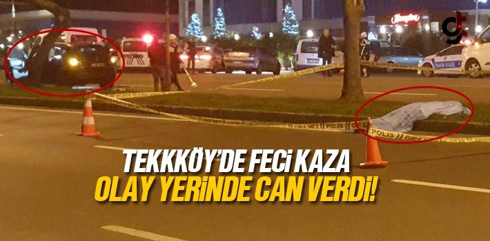 Tekkeköy'de Feci Kaza, 1 Kişi Öldü