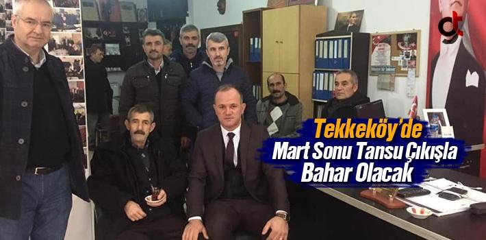 Tekkeköy'de Mart'ın Sonu Tansu Çıkış'la Bahar...