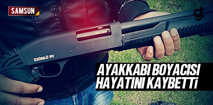 Tekkeköy'de Pompalı Tüfekle Yaralanan Ayakkabı...