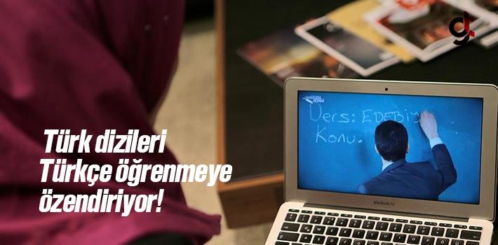 Türk Dizileri, Türkçe Öğrenmeye Özendiriyor