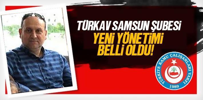 TÜRKAV Samsun Şubesi Yeni Yönetimi Belirlendi