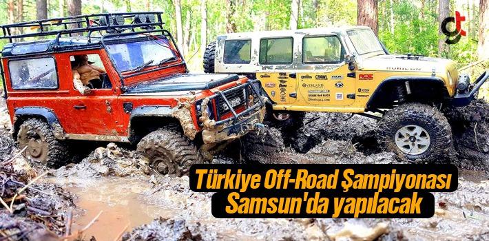 Türkiye Off-Road Şampiyonası, Samsun'da yapılacak