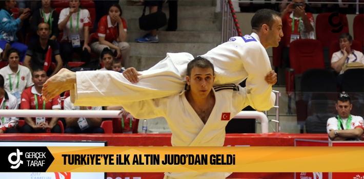 Turkiye'ye İlk Altın Judo'dan Geldi
