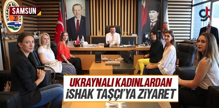 Ukraynalı Kadınlardan Atakum Belediyesi Başkanı...