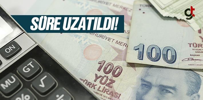 Vergi borcu yapılandırma başvuru süresi uzatıldı