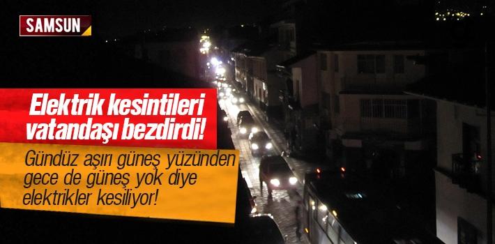 YEDAŞ'ın Gece Gündüz Elektrik Kesintileri Vatandaşı...