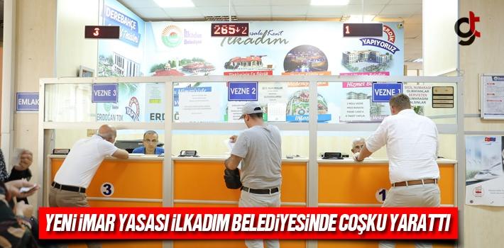 Yeni İmar Yasası İlkadım Belediyesinde Coşku...