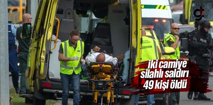Yeni Zelanda'da iki camiye terör saldırısı: 49...