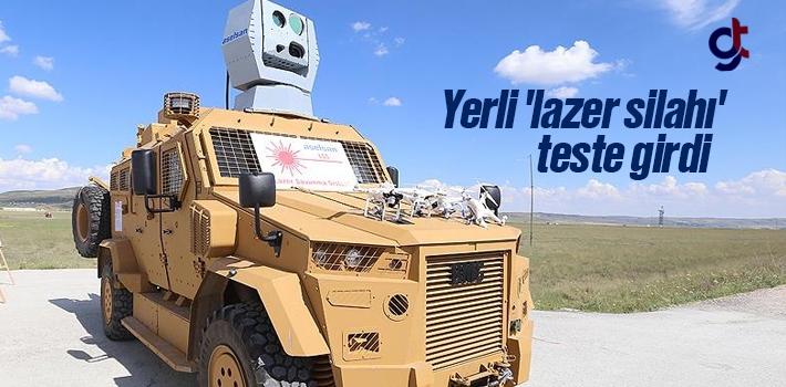 Yerli Üretim Lazer Silahı Teste Girdi