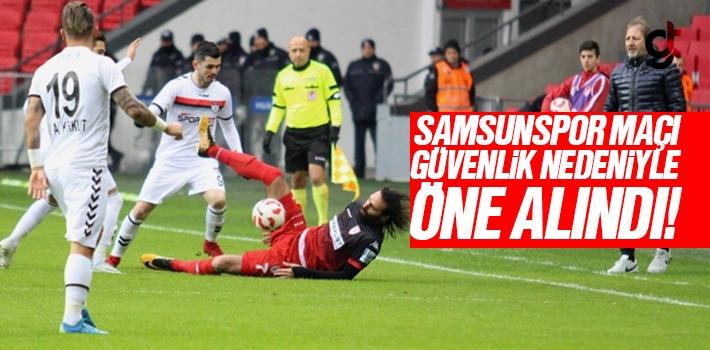 Yılport Samsunspor – Manisaspor Maçı Güvenlik...