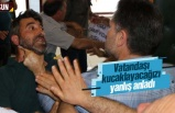 Samsun'da su zammını protesto etmek isteyen vatandaşın boğazını sıktı