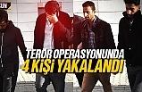 Samsun'da terör operasyonu, 4 kişi yakalandı