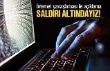 İnternet çöktü, siber saldırı altındayız