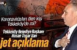 Koronavirüsten ölen kişi Tekkeköy'de mi? Hasan Togar'dan flaş açıklama